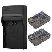 2x EN-EL3E 2200mAh Battery +Charger For Nikon D90 D80 D300 D300s D700 D200 D70s