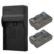 2x EN-EL3E 2200mAh Battery +Charger For Nikon D90 D80 D300 D300s D700 D200 D70s