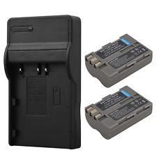 2x EN-EL3E 2200 mAh Batería + Cargador para Nikon D90 D80 D300 D300s D700 D200 D70s