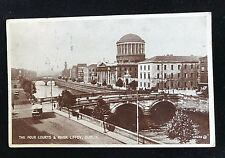 Postcard Four Courts & River Liffey Dublin, Posted 1940, 214696 - PCBOX1
