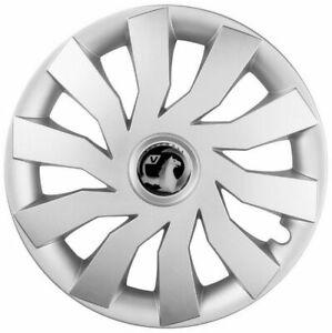 Set of 16'' Wheel trims hubcaps fit Vauxhall Astra Zafira Combo Meriva - silver