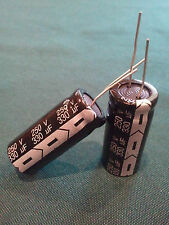 2PCS 330UF 330mfd 250V Electrolytic Capacitor 105 degrees USA FREE SHIPPING