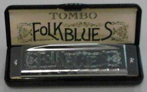 TOMBO FOLK BLUES HARMONICAS - Keys: Ab, A, Bb, B, C, Db, D, Eb, E, F, F#, G