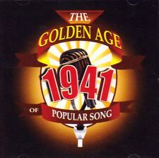 THE GOLDEN AGE OF POPULAR SONG - 1941 (NEW SEALED CD)