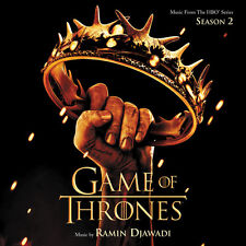 LE TRONE DE FER SAISON 2 (GAME OF THRONES) MUSIQUE SERIE TV - RAMIN DJAWADI (CD)