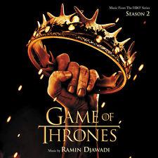LE TRONE DE FER SAISON 2 (GAME OF THRONES) MUSIQUE SERIE TV - RAMIN DJAWADI (CD)