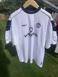 """2000/01 Manchester United Away Shirt (excellent) XXL 49"""""""
