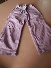 Girls M&S Limited Collection Cropped trouser - age 10 - Worn 6 times