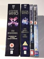 WILLIAM HARTNELL DOCTOR WHO DVD COLLECTION BOXSET BUNDLE DALEKS CHASE BEGINNING
