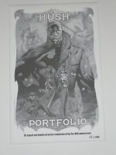 2013 SDCC BATMAN HUSH ART PRINT PORTFOLIO SET BY JIM LEE & ALEX SINCLAIR  /100