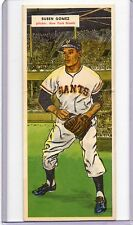1955 Topps Double Header Ruben Gomez / Jim Rivera, # 89/90, Near Mint+