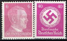 Germany WW2 Third Reich Symbols Hitler Swastika stamps 1942 MLH vio