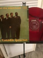 CAL TJADER QUARTET - Jazz at the Blackhawk VG/VG RED VINYL LP, Vince Guaraldi