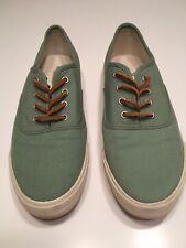 American Eagle Boat Shoes Sz 9 Green Ladies
