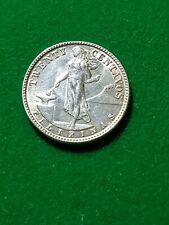 PHILIPPINES  20 Centavos 1945  Silver