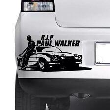 Paul Walker R.I.P Finestra Muro Paraurti Auto Laptop Adesivo Decalcomania In Vinile JDM XBOX ps4