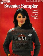 Sweater Sampler Knitted Designs with Duplicate Stitch | Leisure Arts 249