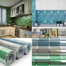 2M Wallpaper Kitchen Decor Anti Oil Self Adhesive Mosaic Tile Wall Paper Sticker