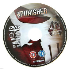 The Punisher DVD R2 PAL - John Travolta Film Marvel Movie DISC ONLY