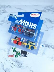 Fisher-Price Thomas & Friends MINIS, DC Super Friends #3 (4-Pack)