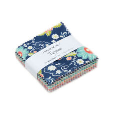 Moda Fabric Tuppence Mini Charm Pack - Patchwork Quilting 2.5 Inch Squares