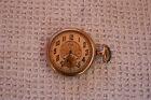 Reloj de Bolsillo Antiguo Elgin Chapado en Oro de 1917