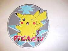 HUGE PIKACHU Jacket Patch Pokémon GO  Nintendo Embroidered Iron On Gift Game