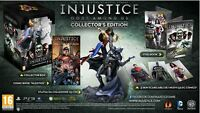 INJUSTICE GODS AMONG US COLLECTOR LIMITED EDITION BOX PS3 FIGURE BATMAN GAME #1