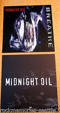 Midnight Oil 1996 Set of 2 Original Promo Album Flats Posters