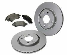 Vented Front Brake Discs and Pads Set Fits Peugeot 206 1.4 1.6 2.0 1999-2010