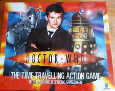 DOCTOR WHO THE TIME TRAVELLING ELECTRONIC ACTION GAME COMPLETE