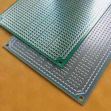 5x pcb 8x11cm 3/5er StreifenrasterVeroboard Lochraster Platine Leiterplatte new