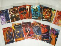 wildstorm gallery trading card + 7 chase cards