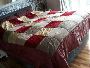 Large Patchwork Throw