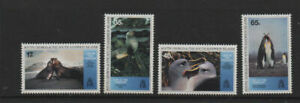 South Georgia 1994 Life in the Freezer BBC SG247-250 MNH mint set Stamps