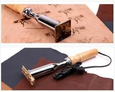 200w iron tool for - Custom LOGO Brass stamp Leather Seal heat Embosser Wood
