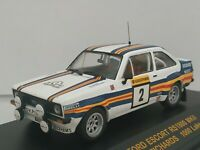 1/43 FORD ESCORT RS1800 MKII VATANEN 1981 IXO RALLY CAR COCHE ESCALA DIECAST