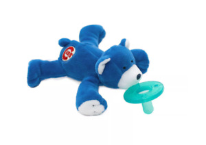 WubbaNub Pacifier - Chicago Cubs Bear