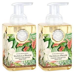 2-PACK Michel Design Works Vanilla Palm Foaming Hand Soap, 17.8 oz X2 SEALED