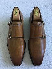 Magnanni 'Miro' Double Monk Strap Brown Leather Shoes 11 M