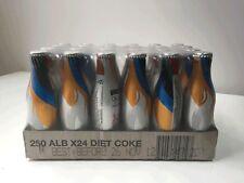 Coca Cola Sydney Olympics Diet Coke Aluminium 250ml Bottle NEW SEALED CASE (24)