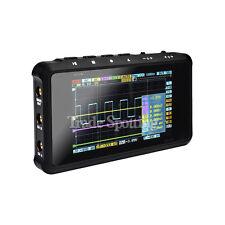 Portable DSO203/Quad Mini Digital 4 Channel Oscilloscope Pocket Sized Black US