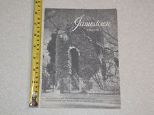 1961 JAMESTOWN VIRGINIA BORCHURE COMPLETE OLD VINTAGE