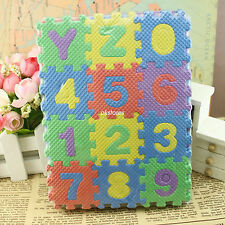 36pcs Small Size Puzzle Baby Educational Alphabet Letters Numeral Foam Mat WG66