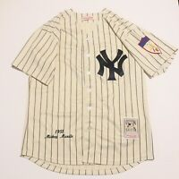 Mitchell & Ness #7 Mickey Mantle 1951 Rookie MLB Yankees Jersey, Mens Sz 50—NWOT