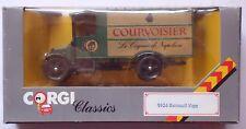 CORGI CLASSICS - 1926 RENAULT VAN - COURVOISER - MINT & BOXED
