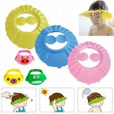 2X Adjustable Baby Kids Shampoo Bath Shower Hat Cap Wash Hair Waterproof Shield