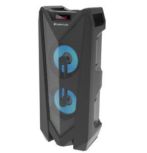 "🔥Fully Powered Dual 4"" Bluetooth Speaker Party Lights + FREE KARAOKE MICROPHONE"