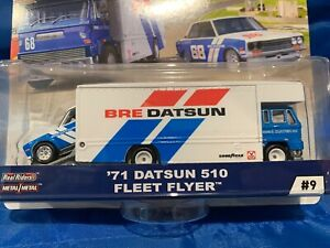 2019 Hot Wheels Car Culture TEAM TRANSPORT BRE 71 Datsun 510