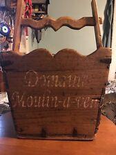 Antique France Grapes Basket Domaine Moulin A Vent